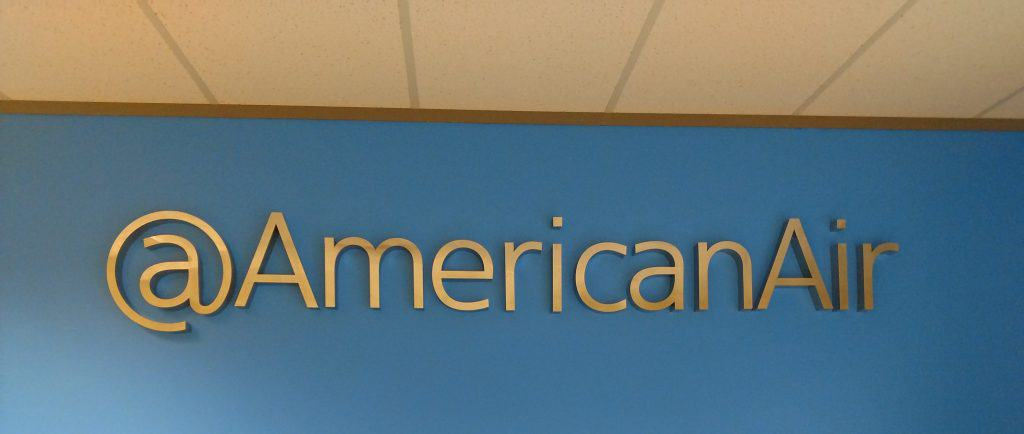 Fortune 500 Companies Brand Signage for Industry 1 American Airlines