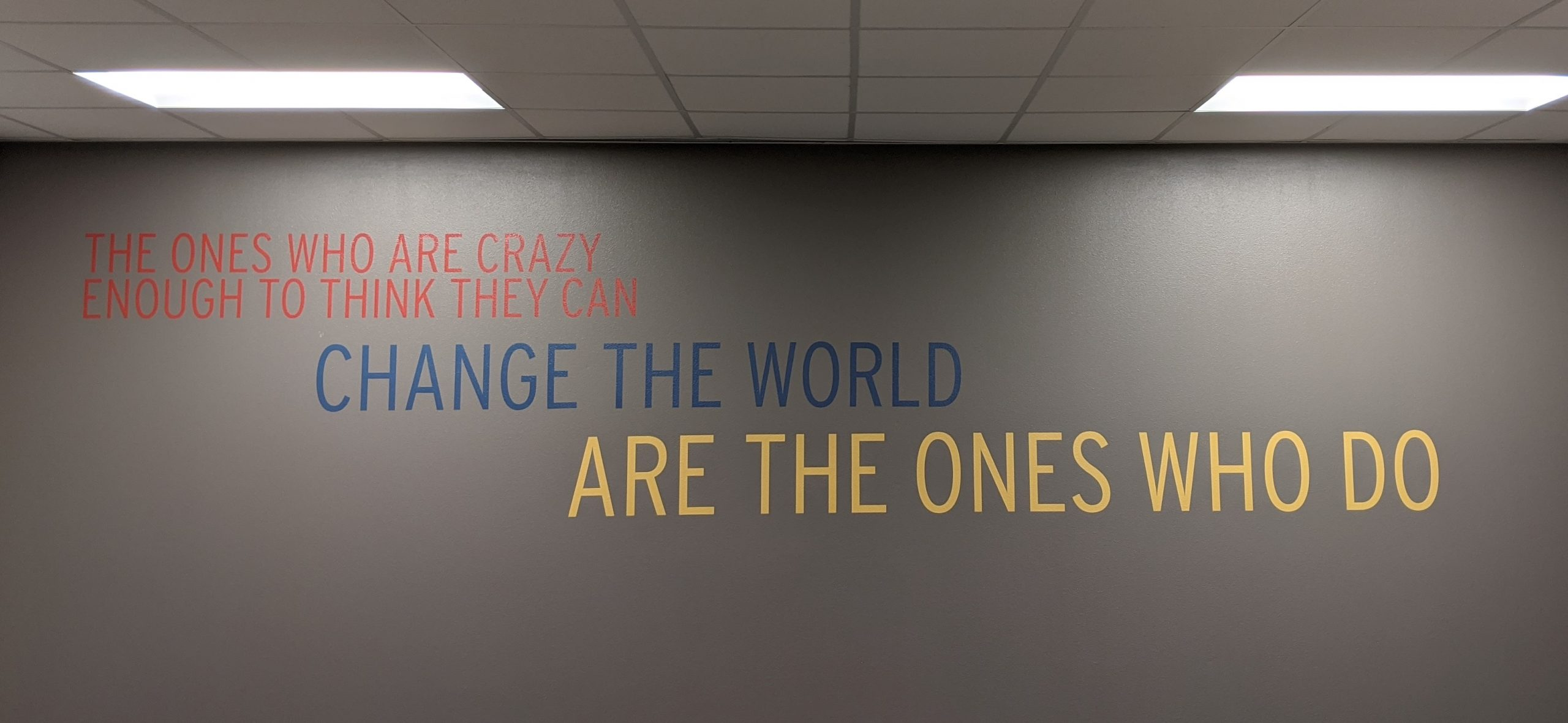 Brand + Culture Interior Signage and Environmental Graphics TX Change the World scaled