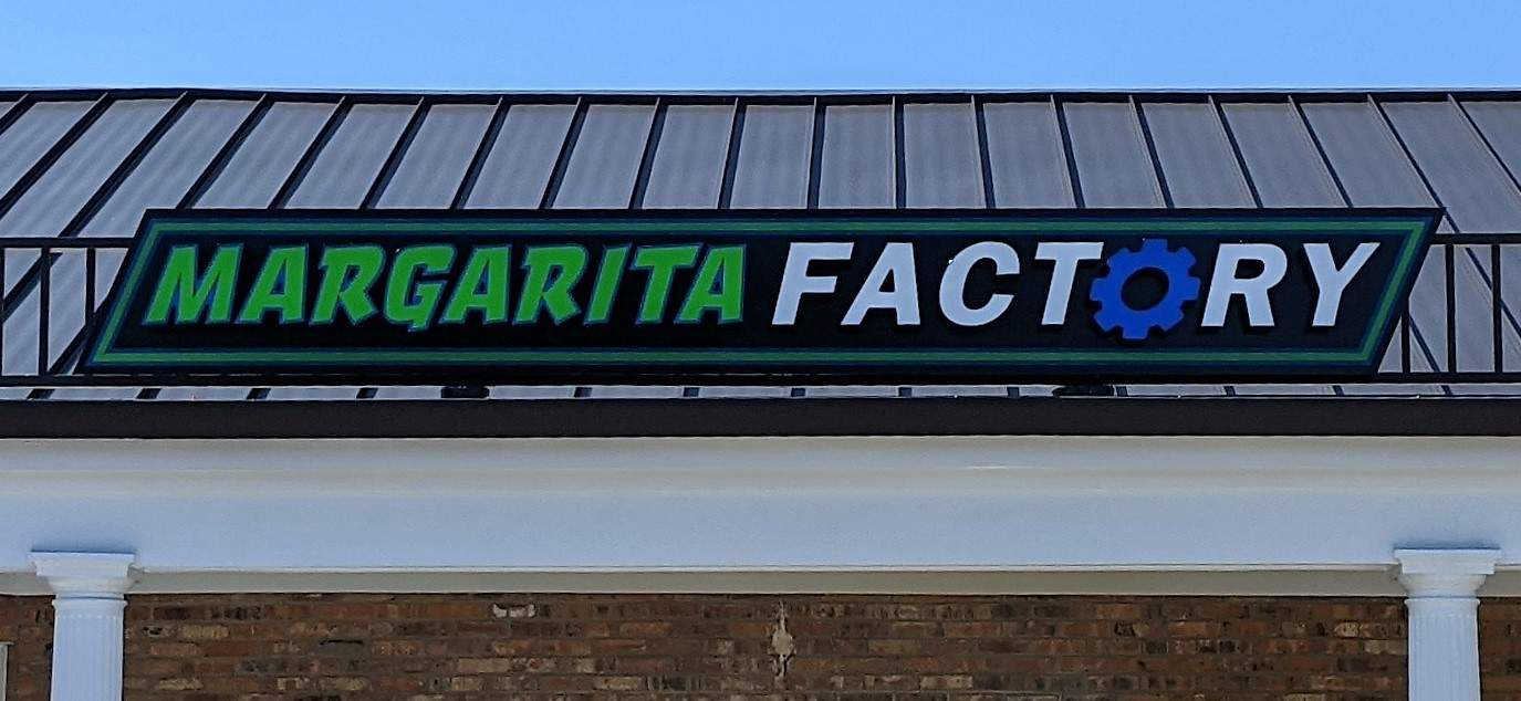 Daytime Margarita Factory Channel Letters 1 | Restaurant and Retail Signage