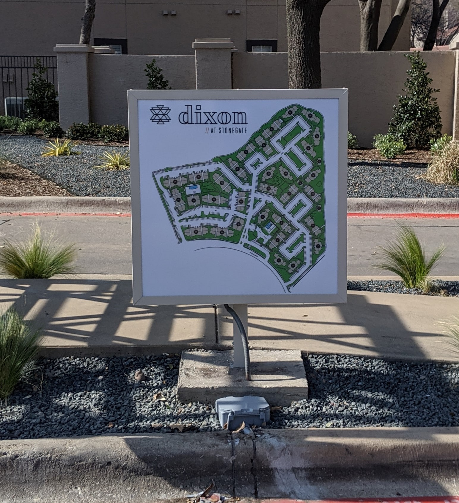 Dixon Community Map | Multifamily Housing Signs