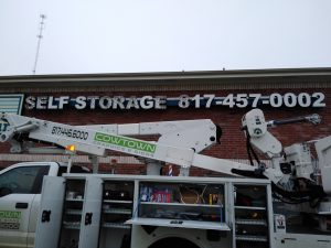 Exterior Building Signs Cowtown Electrical Sign Service