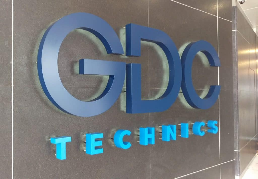 Fortune 500 Companies Brand Signage for Industry 1 GDC Technics