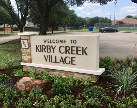 Kirby Creek Identity Sign | Multifamily Housing Signs