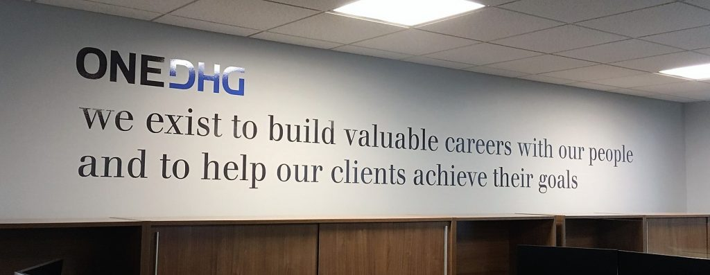 One DHG1 | Wall Graphics