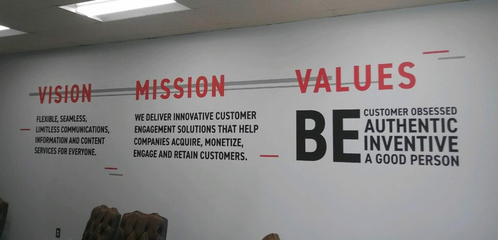 MissionValues Vinyl Graphics | Does Your Visual Branding Make the Right First Impression?